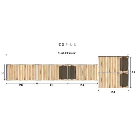 Brygga Rentukka CX 1-4-4