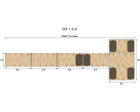 Brygga Rentukka DX 1-5-6