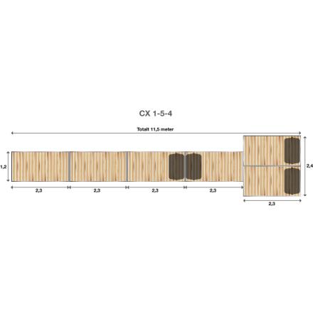 Brygga Rentukka CX 1-5-4