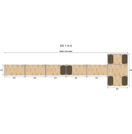Brygga Rentukka DX 1-6-6