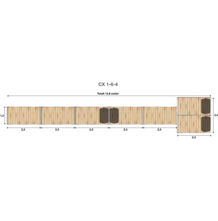 Brygga Rentukka CX 1-6-4