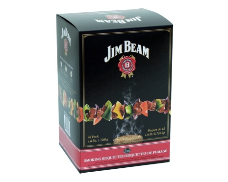 Jim Beam 48 st, Bradley Smoker