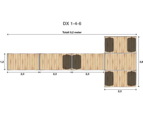 Brygga Rentukka DX 1-4-6