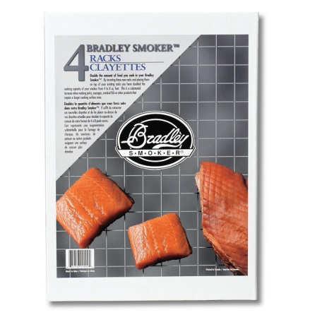 Bradley Smoker Galler 4-pack