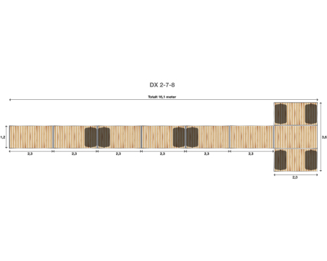 Brygga Rentukka DX 2-7-8