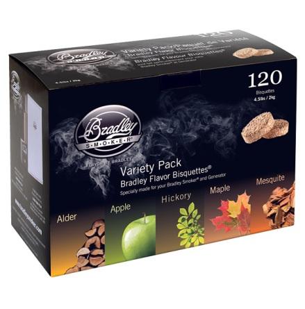5 smaker 120 st, Bradley Smoker