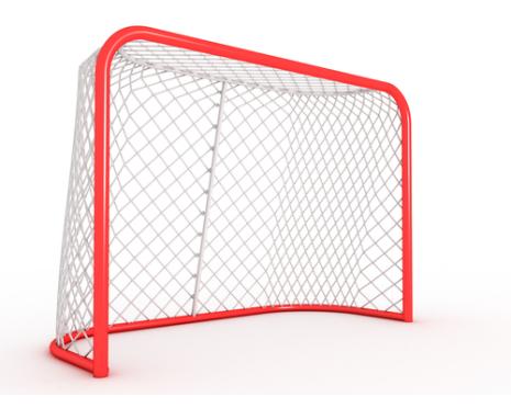 Hockeynät för bur, Skolbur