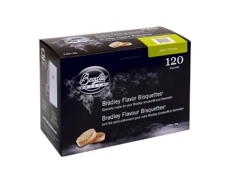 Äpple 120 st, Bradley Smoker