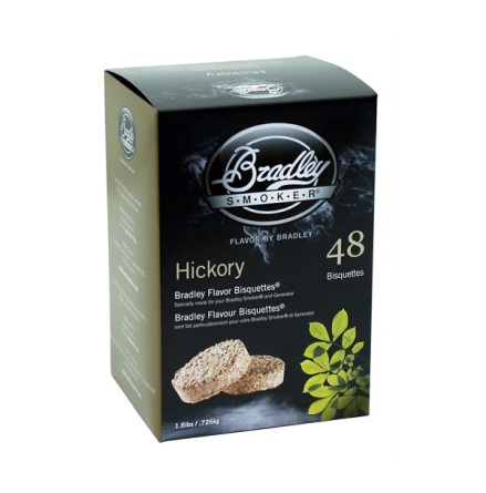 Hickory 48 st, Bradley Smoker