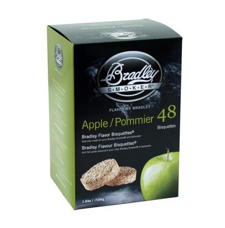 Äpple 48 st, Bradley Smoker