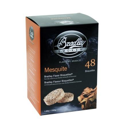 Mesquite 48 st, Bradley Smoker