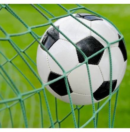 Fotbollsnät 5 m x 2 m, Grön