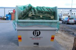 Containernät 3.5m x 7m, diagonalmaska 60mm