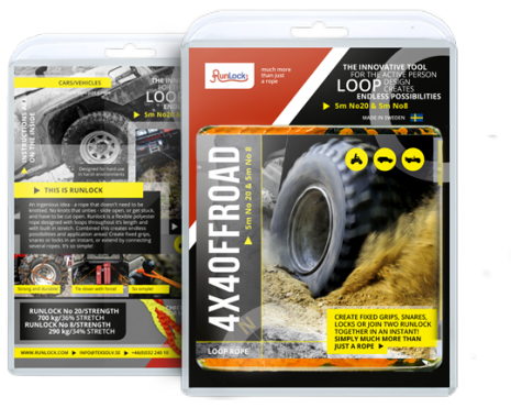Runlock ATV 4 x 4 Offroad set