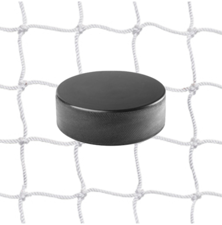 Hockeynät 2 mm Nylon Vit