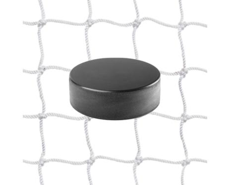 Hockeynät 2 mm Nylon Vit