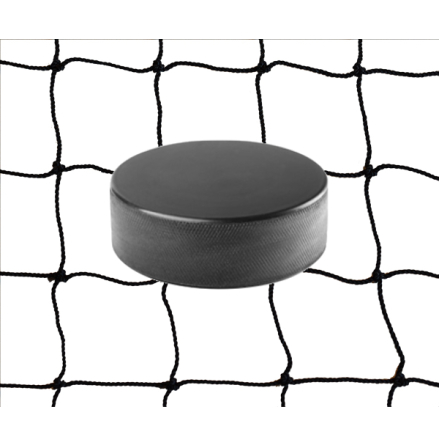 Hockeynät 1 mm Nylon Svart