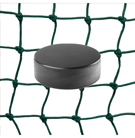 Hockeynät 3 mm PE Grön