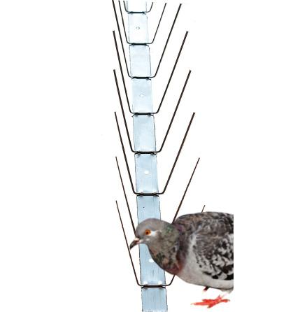 Fågelpiggar PS02, 10-pack