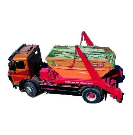 Containernät 3.5m x 7m, fyrkantmaska 80mm