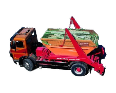 Containernät 3.5m x 7m, fyrkantmaska 30mm