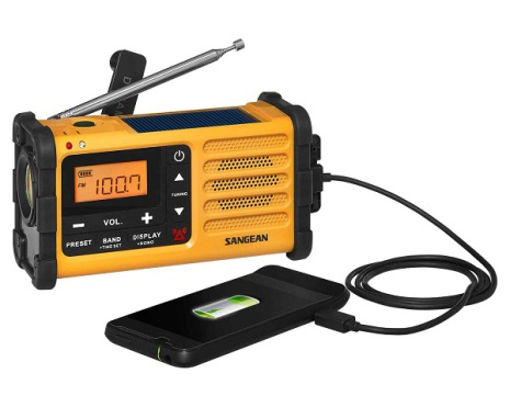 Friluftsradio Sangean MMR-88