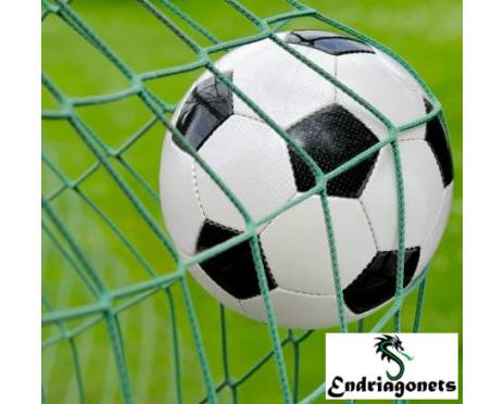 Fotbollsnät 3 m x 2 m, Grön, Spanien