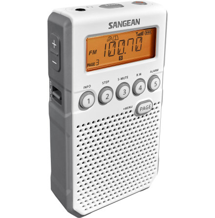 Fickradio Sangean DT800 Vit