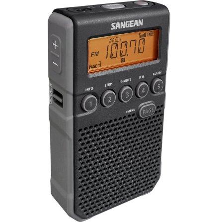 Fickradio Sangean DT800 Svart