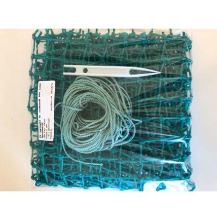 Lagningskit för Hönät , 30 mm grön PE, 0,7 m x 1 m