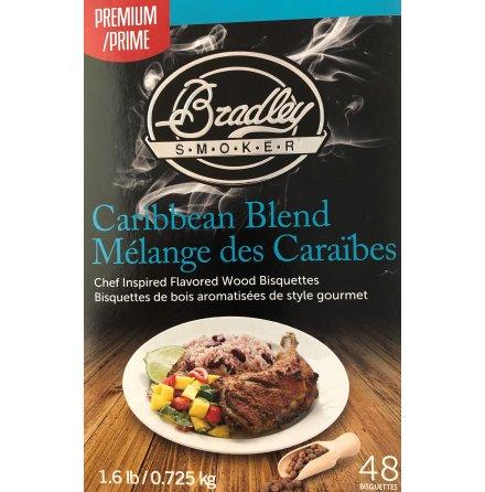 Briketter Karibisk Blandning 48 st, Bradley Smoker