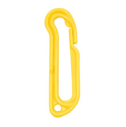 Snabbhake gul plast 95mm 4-pack.
