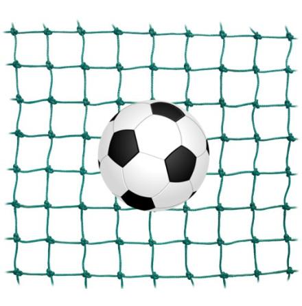 Fotbollsnät kantsydda, 130 mm